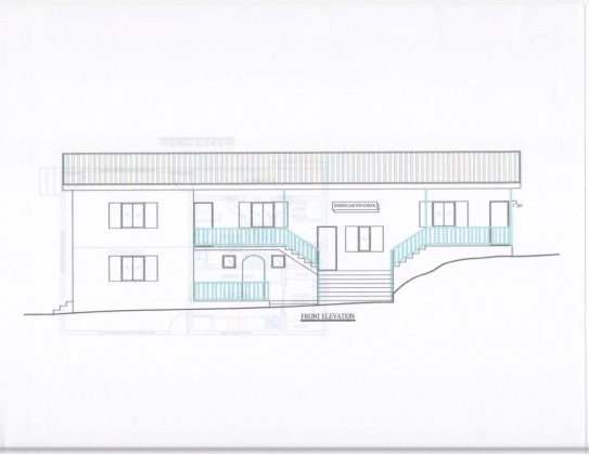 Architectural Plan- Front Elevation